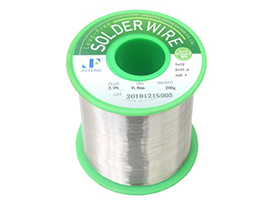 Low Temperature Solder Wire with Flux