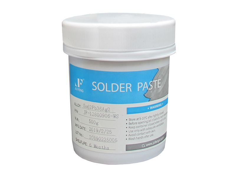 Sn62Pb36Ag2 Mid Temperature Tin Lead Solder Paste