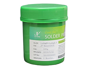 Sn62.8Pb36.8Ag0.4 Middle temperature solder paste